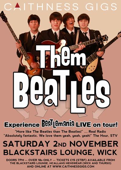 Them Beatles @ Blackstairs Lounge
