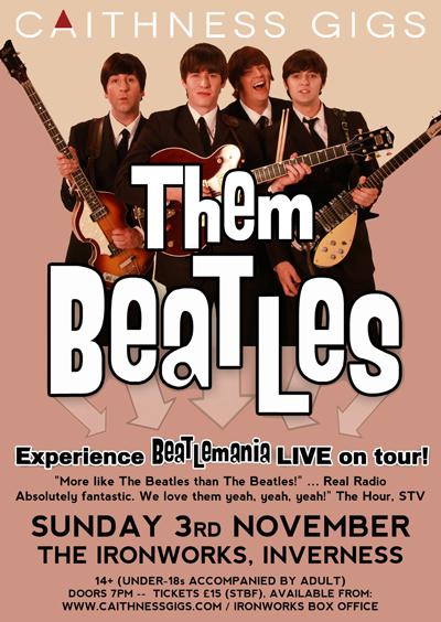 Them Beatles @ Ironworks