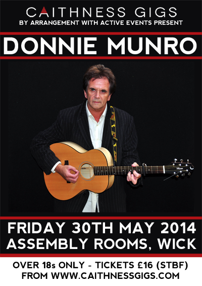 Donnie Munro @ Assembly Rooms