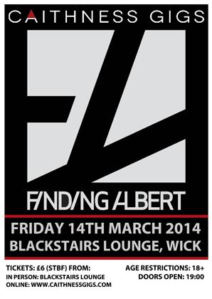 Finding Albert @ Blackstairs Lounge